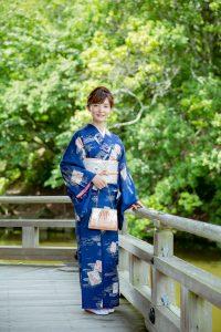 奈良レンタル着物の小紋