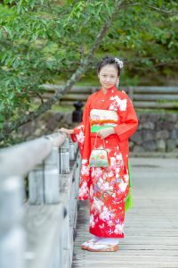 奈良レンタル着物のキッズ着物